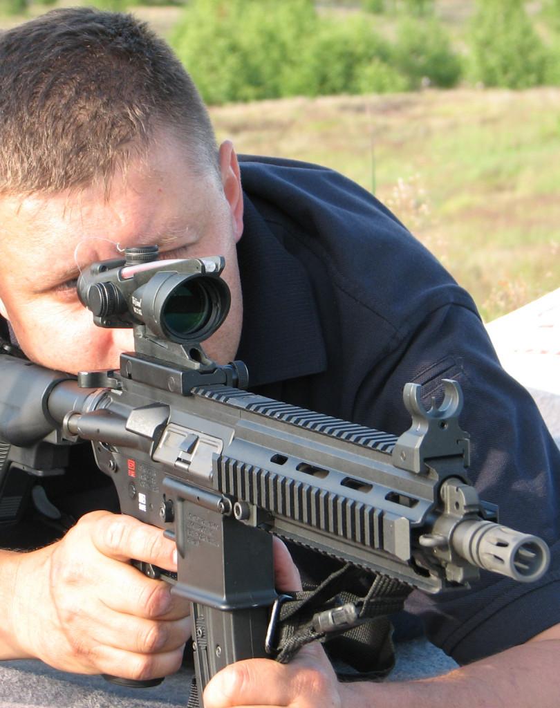 Plener, strzelanie dynamiczne w plenerze